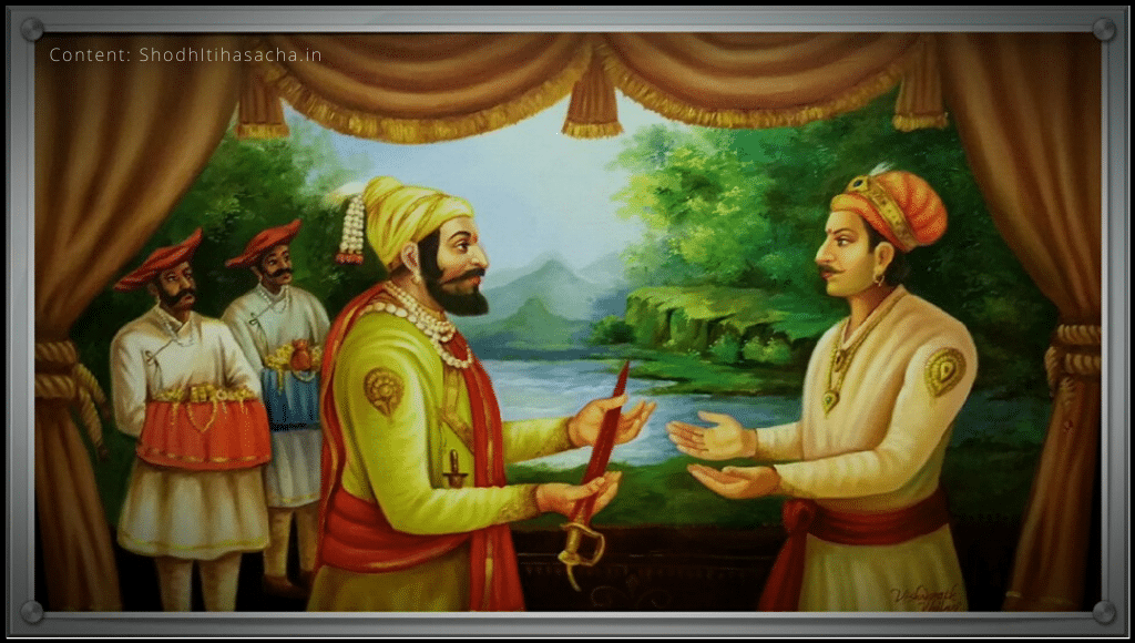 chhatrapati ani chhatrasal bhet